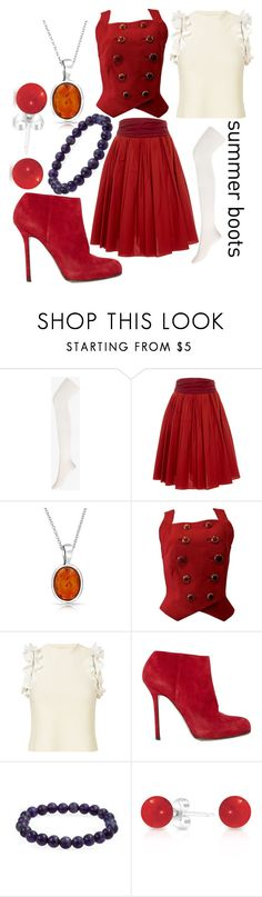 """Baby"" by sara-winchester ❤ liked on Polyvore featuring Forever 21, Paule Ka, Bling Jewelry, Versace, 3.1 Phillip Lim and Sergio Rossi"