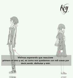 Frases anime #key킴