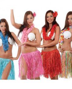 Conjuntos hawaianos para las mejores fiestas temáticas y hawaianas