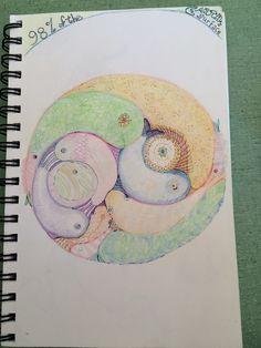 """98% Fish"" Mandala from Wallpaper Journal work in progress 11/9/2015"