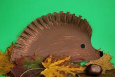 Igel aus Pappteller - Fall Crafts For Toddlers Paper Plate Art, Paper Plate Crafts, Paper Plates, Autumn Crafts, Autumn Art, Toddler Art Projects, Toddler Crafts, Diy For Kids, Crafts For Kids