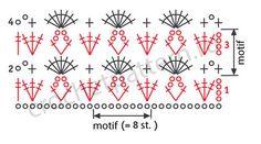 Free scheme openwork crochet pattern 5