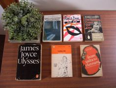 Job Lot of 6 Vintage Penguin Books incl. by Hersnhiswarehouse, £11.95