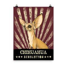 Chihuahua Revolution Poster