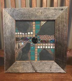 Mosaic tiles and slate