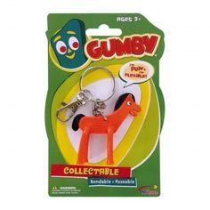 New Pokey Keychain Toy Bendable Keyring Key Chain Ring Horse Gumby Pony Diy Keychain, Key Chain Rings, Puns, Horses, Toy, Friends, Amigos, Boyfriends