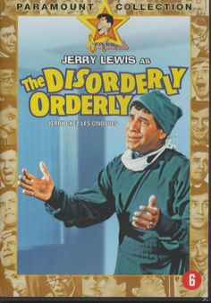 JERRY LEWIS as THE DISORDERLY ORDERLY DVD w/ SUSAN OLIVER