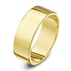 This elegant Yellow Gold Flat Shaped Wedding Ring is a contemporary yet timeless design. It is flat both on the inside and outside of the band making this ring a beautiful choice for someone who prefers a simple yet sophisticated wedding ring. Star Wedding, Wedding Bands, Sophisticated Wedding, Flat Shapes, Gold Flats, Engraved Rings, Metal Bands, Timeless Design, Gold Rings