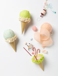 ice cream cone surprise balls