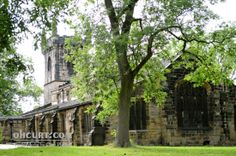 """""""All Saints Parish Church Batley II"""" - One of West Yorkshire's oldest buildings, reportedly built in the 1400s."""