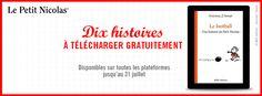 #VendrediLecture #Partirenlivre Téléchargez gratuitement 10 histoires Le Petit Nicolas jusqu'au 31 juillet