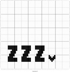 Simple and modern baby blanket graph for crochet graphgan.