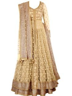Sangeet Lehengas - Frontier Raas-Bridal Wear Info & Review | Bridal Wear in Delhi NCR | WedMeGood #gold #wedmegood