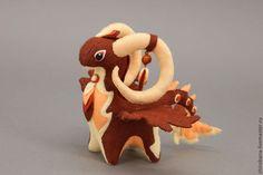 Купить дракон Оригинальный мягкая игрушка soft toy dragon - коричневый, дракон, драконы, дракончик