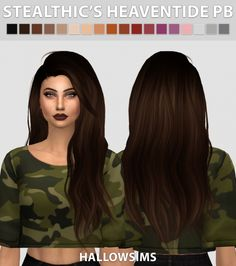 Stealthic's Heaventide PushedBack at Hallow Sims via Sims 4 Updates