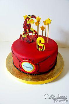 Iron Man Cake | Flickr - Photo Sharing!