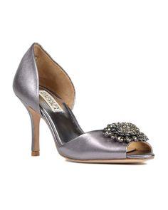 3e24e38a9ab Lacie Rhinestone Bridal Shoes Badgley Mischka Bridal
