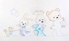 Baby Crib Bedding, Applique Designs, Frocks, Babys, Duvet, Diy And Crafts, Scrap, Baby Boy, Teddy Bear