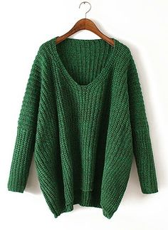 4f445ef31d Cotton V-Neckline Solid Bat Shirt None Sweaters (1125534) Long Sleeve  Sweater