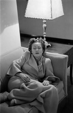 "Gloria Swanson, 11 November 1949, ""Gloria Swanson Day"" in Dallas, photo by Joe Scherschel"