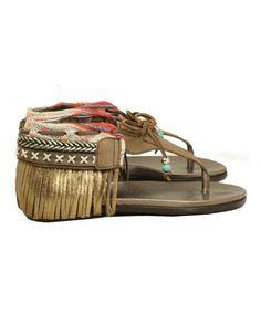 Indie Boho Sandals - Brown | Custom Made – SWANK