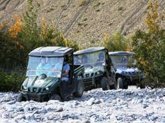 ATV at Denali. Alaska