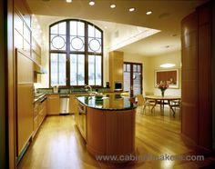 Brookline Hill Home. Kitchen Design: KR+H's Paul Reidt and Nicholaeff Architecture + Design / Builder: Cataldo Custom Builders / Photography: Peter Vanderwarker