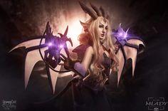 Dragon Sorceress Zyra cosplay by GrumpyCait