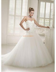 RONALD JOYCE Romantische Traumhafte Trendige Brautkleider aus Softnetz