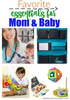 Favorite baby essentials for mom and growing baby!
