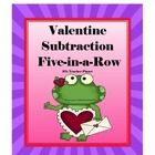 FREE Valentine Subtraction 5-in-a-Row!  *I have over 35 FREE products. Follow me and be notified when a new free product is released.*  Valentine S...