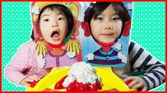 パイフェイス おもちゃ ごっこ遊び そうちゃん☆おとちゃん Pie Face Showdown Family Fun Game Kids Pla...