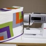 Free pattern for this lovely sewing machine cover