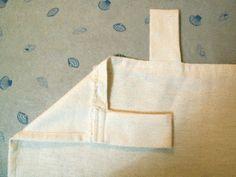Tutoriel pour rideaux à pattes (Marine)