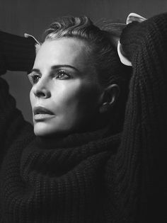 Kim Basinger by Craig McDean for Interview March 2014 | The Fashionography