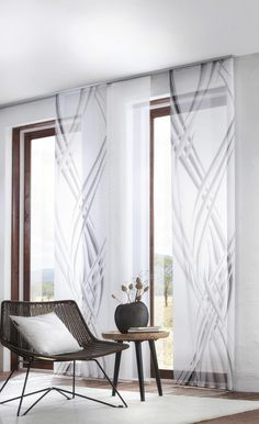 Sliding Curtains, Beautiful Color Combinations, New View, Apartment Furniture, Decoration, Window Treatments, Sweet Home, New Homes, House Design