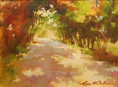 Woods Path by Aline Ordman