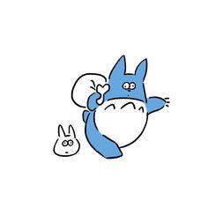 Totoro #totoro #myneighbortotoro #トトロ #seijimatsumoto #seiji.matsu #松本誠次 #art #drawing #illustration #illustrator #イラスト