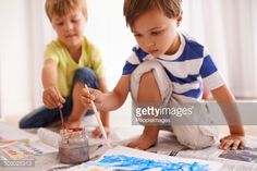 Stock Photo : Picasso's in the making