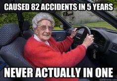 Bad Driver Barbara