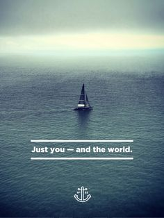 The Wander Postcard Project: Just You and the World