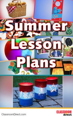 Perfect lesson plans for summer!