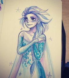 Elsa by andythelemon