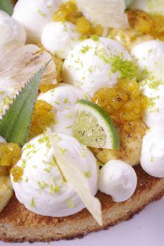 Fantastik exotik noix de coco, ananas et citron vert | I Love Cakes