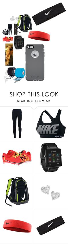 """""""Track practice"""" by fashionicon67 ❤ liked on Polyvore featuring NIKE, New Balance, Garmin, Vivienne Westwood, OtterBox, women's clothing, women, female, woman and misses"""