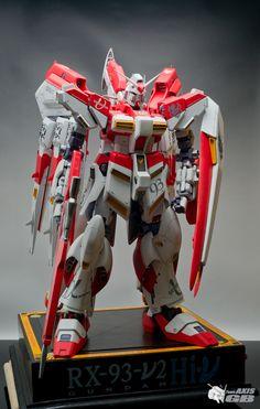 1/48 RX-93 Nu2 Hi-Nu Gundam Full LEDs! : Team AXIS GB