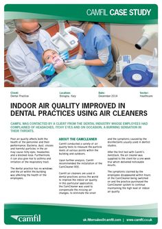 Camfil air cleaners are used in dental practices across the world to improve the indoor air quality. For dental practice air cleaners, click here