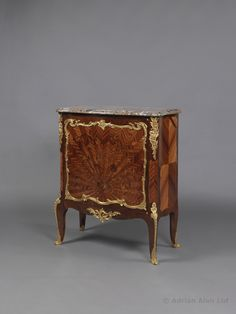 A Fine Gilt-Bronze Mounted Kingwood and Marquetry Side Cabinet by François Linke, French, Circa 1900.  Linke Index Number '1688'.   Signed 'LINKE'.