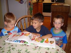 Homeschool picture books:  book review