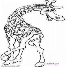 Šablony Na MalovÁnÍ Zed Žirafi